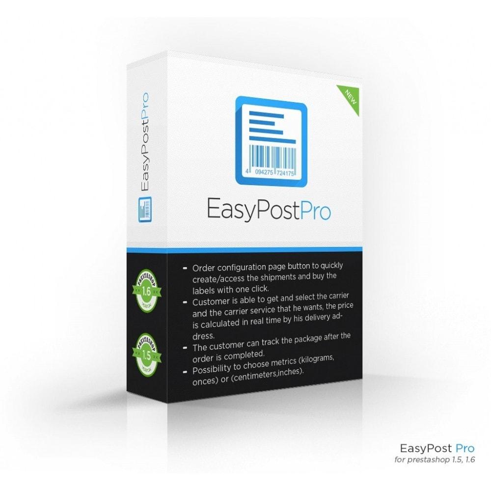 module - Preparação & Remessa - Easy Post Pro (DHL, GLS, DPD, Colissimo, RoyalMail etc) - 1