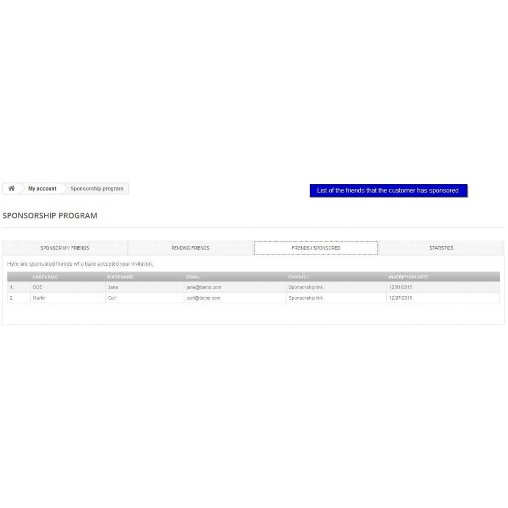 module - Fidelização & Apadrinhamento - All-in-one Rewards: Fidelidade, patrocínio, afiliação - 7