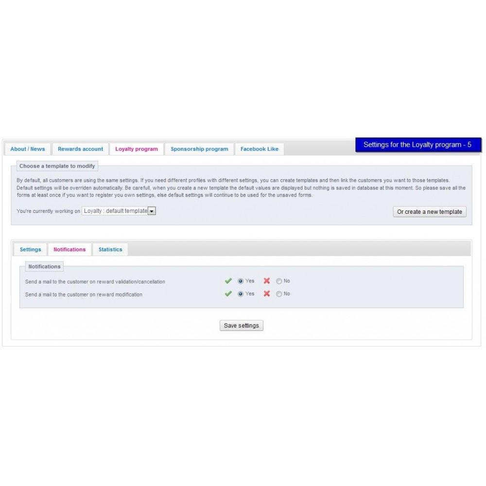 module - Fidelização & Apadrinhamento - All-in-one Rewards: Fidelidade, patrocínio, afiliação - 28