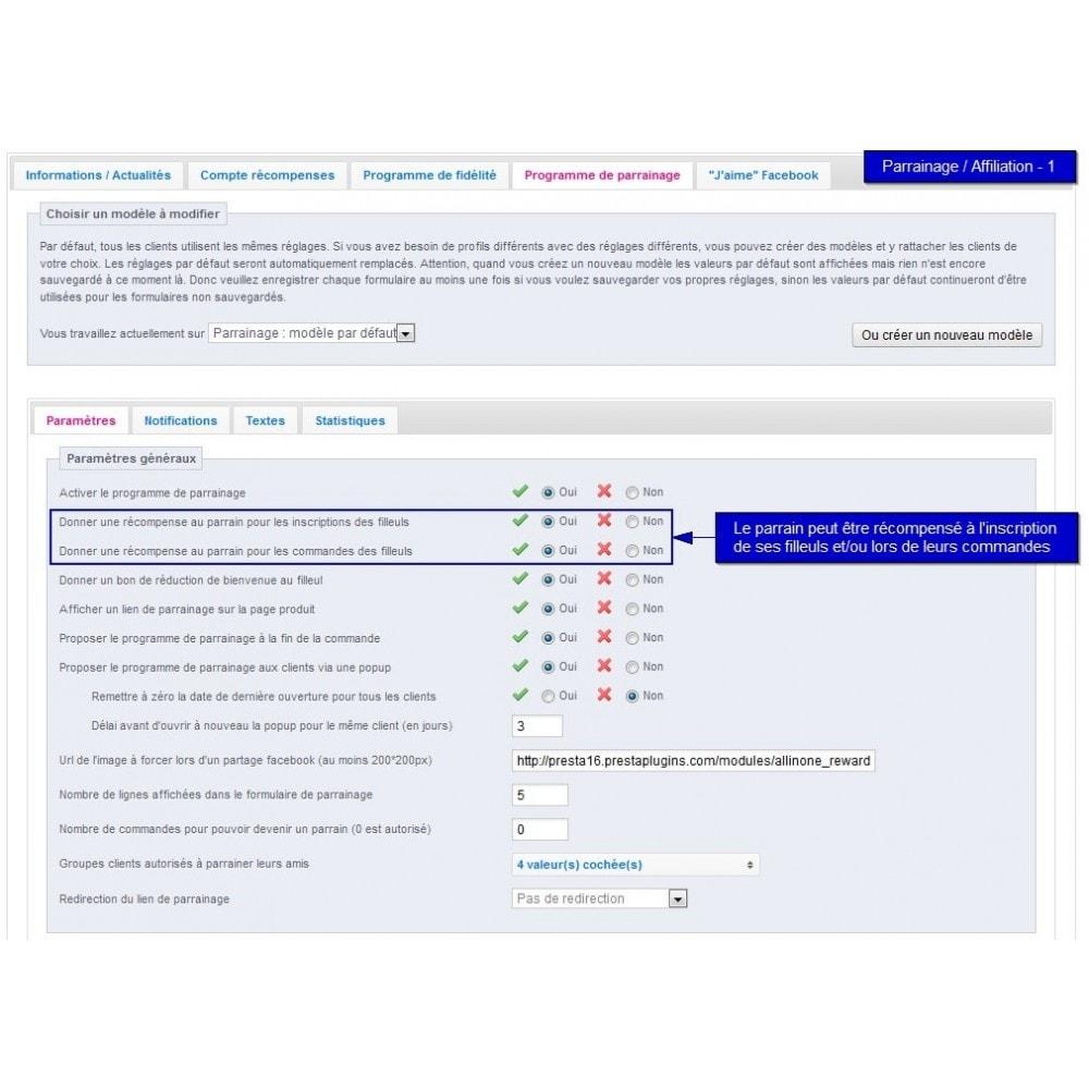 module - Fidélisation & Parrainage - All-in-one Rewards: fidélité parrainage affiliation... - 31