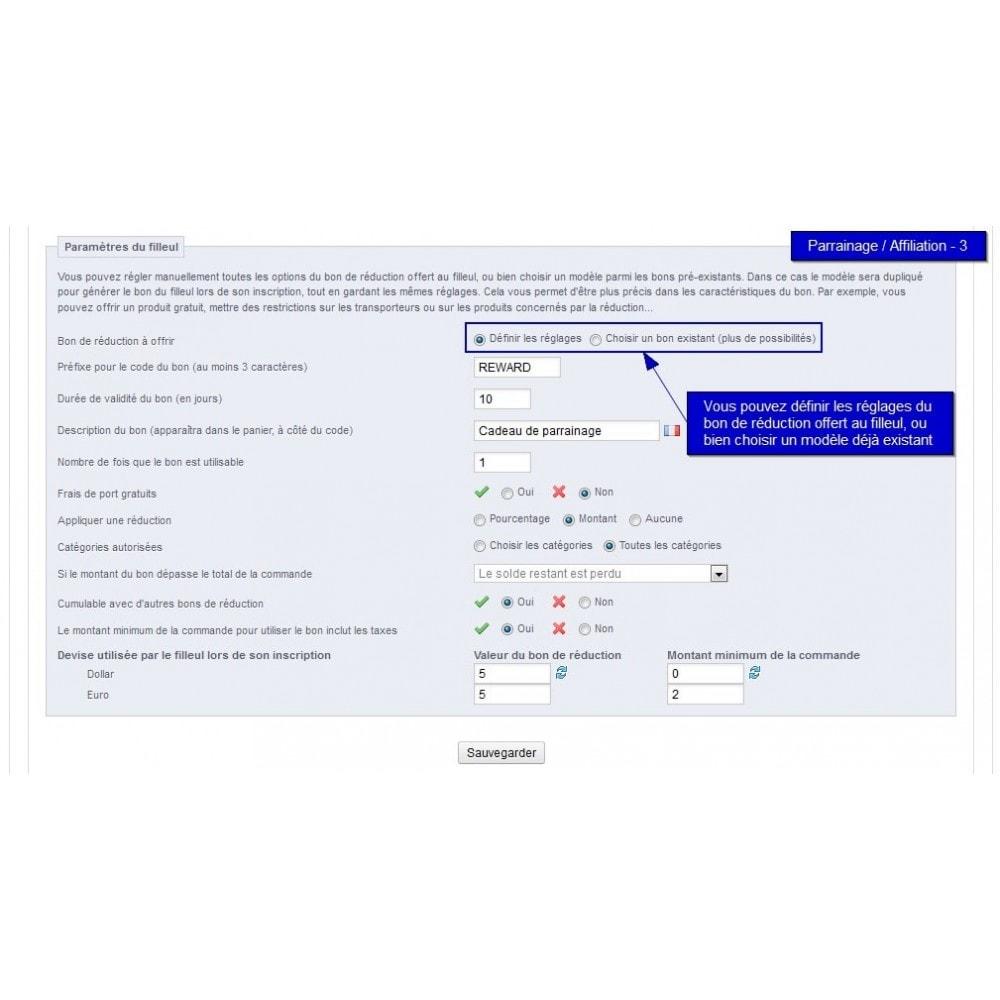 module - Fidélisation & Parrainage - All-in-one Rewards: fidélité parrainage affiliation... - 33