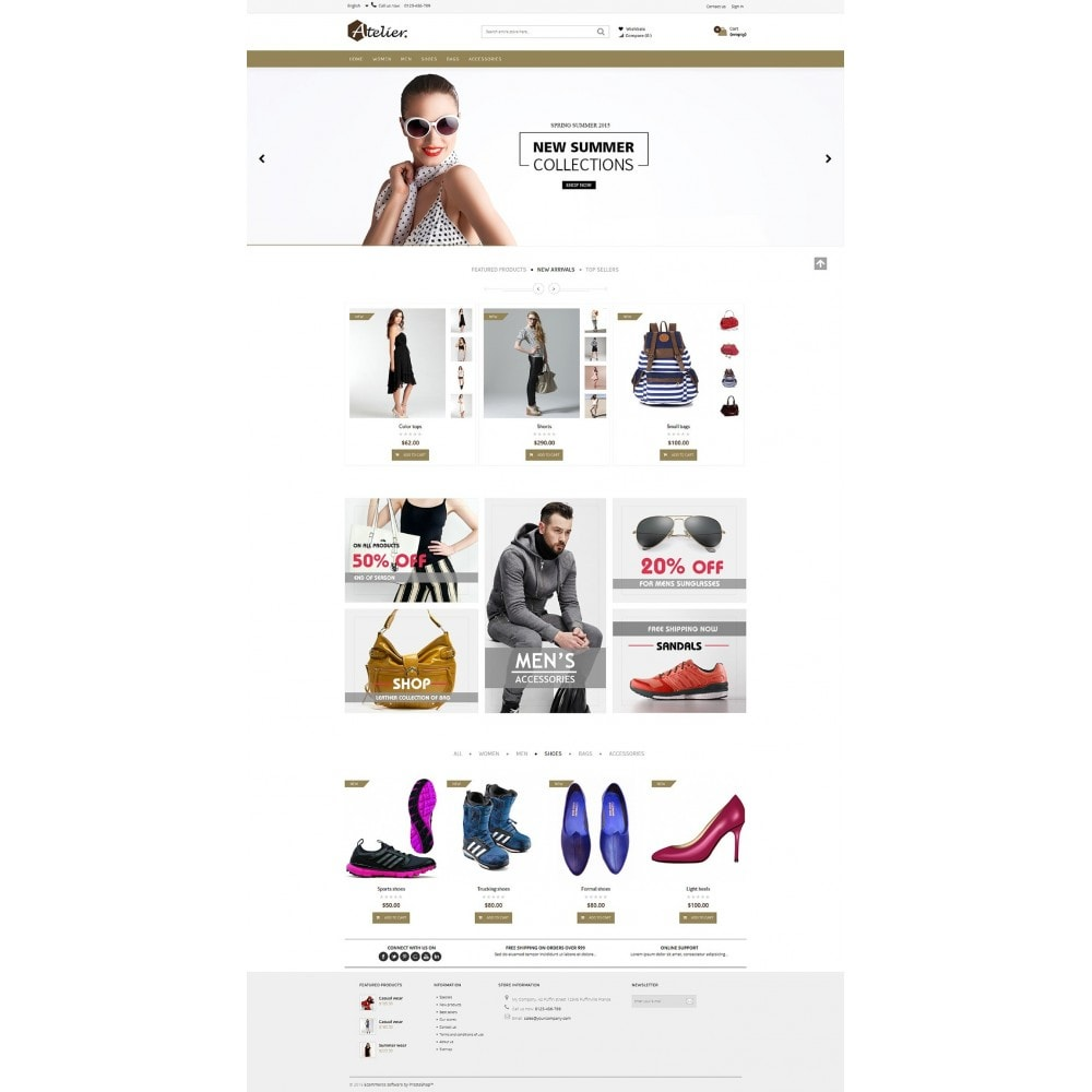 theme - Moda y Calzado - Atelier Fashion Multipurpose HTML5 - 7