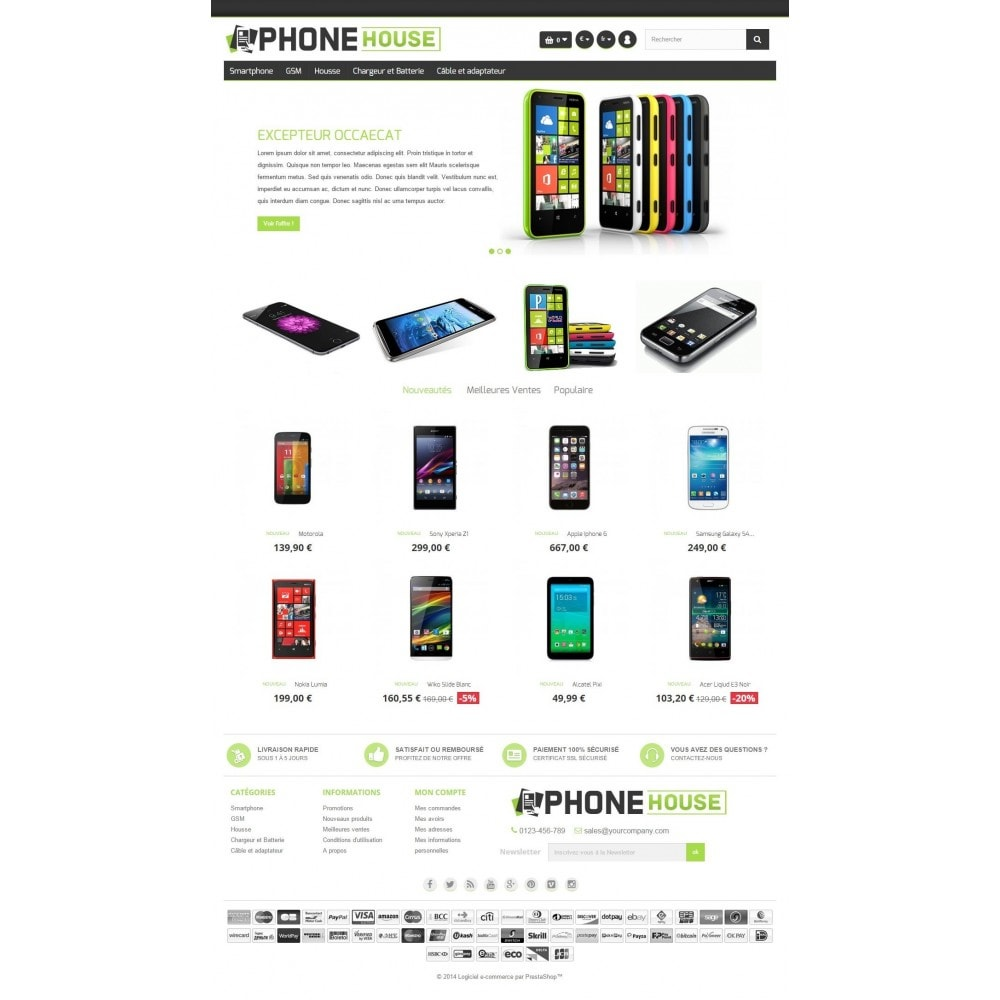 theme - Электроника и компьютеры - Phone House - 2