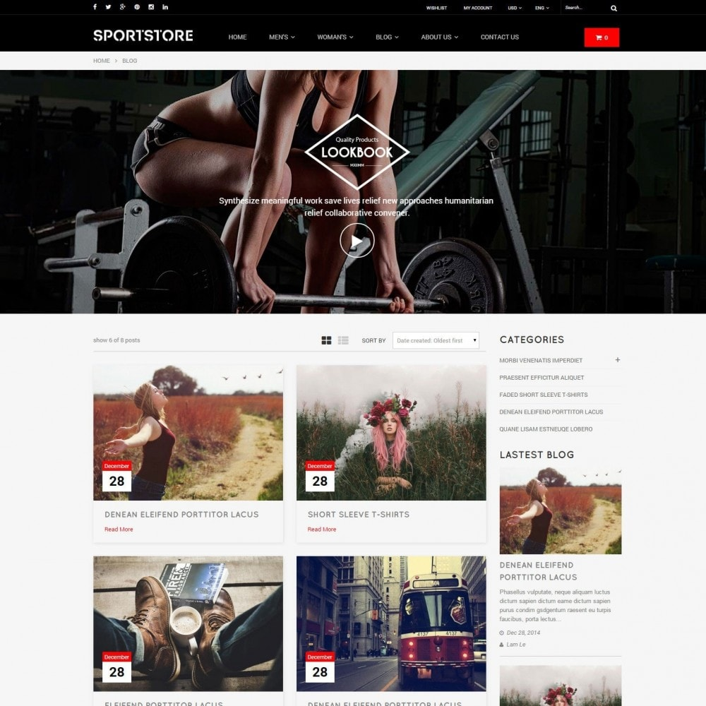 theme - Sports, Activities & Travel - Sport Gym & Fitness Responsive Theme - 3