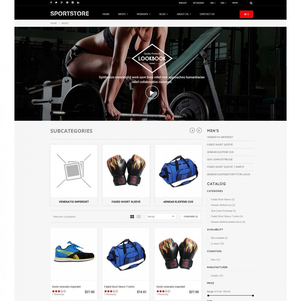 theme - Sports, Activities & Travel - Sport Gym & Fitness Responsive Theme - 4