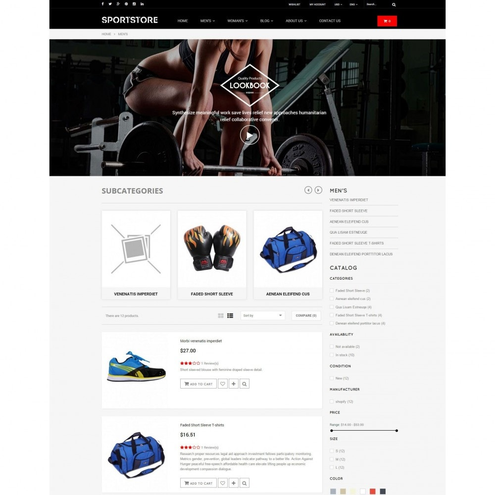 theme - Sports, Activities & Travel - Sport Gym & Fitness Responsive Theme - 5