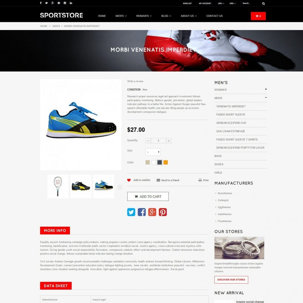 theme - Sports, Activities & Travel - Sport Gym & Fitness Responsive Theme - 6