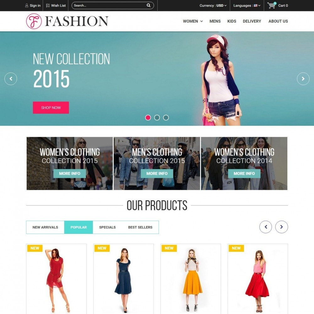 theme - Fashion & Shoes - Fashion Style - Сlothes Store - 2