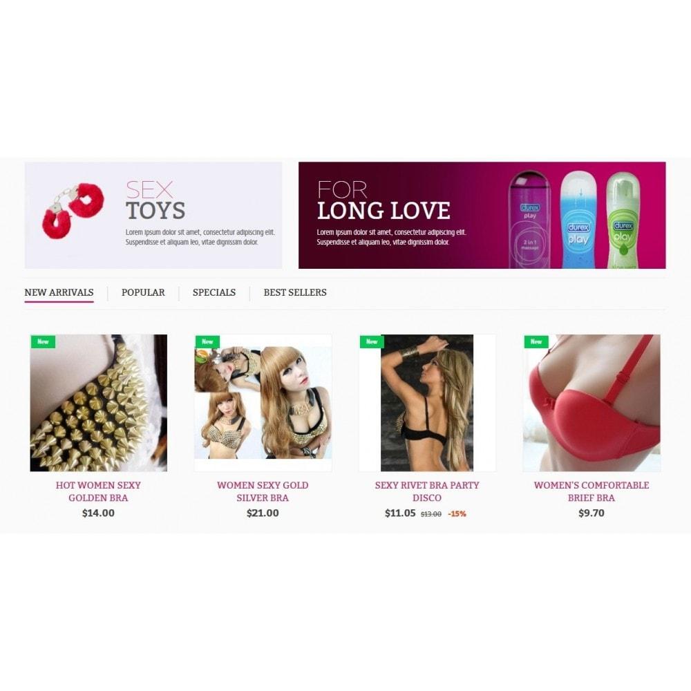 theme - Lingerie & Erwachsene - SexShop Online Store - 4