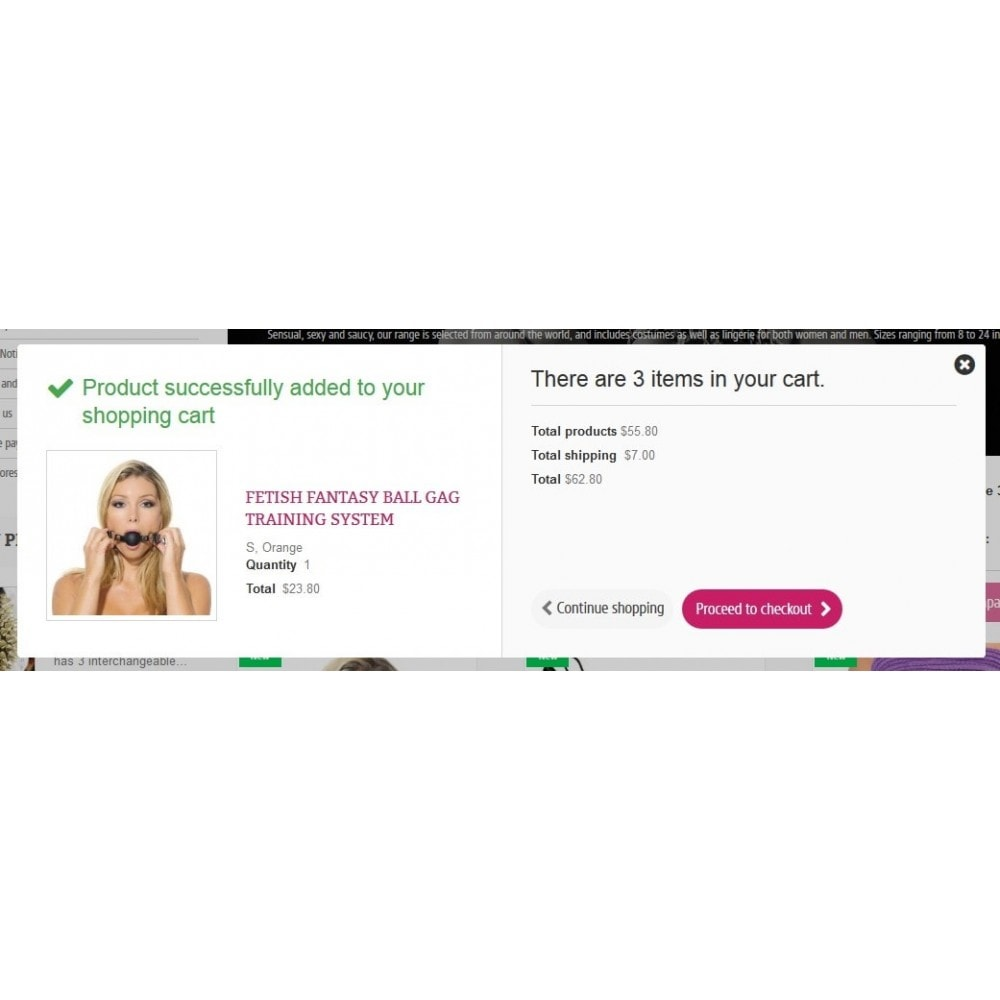 theme - Lingerie & Erwachsene - SexShop Online Store - 6