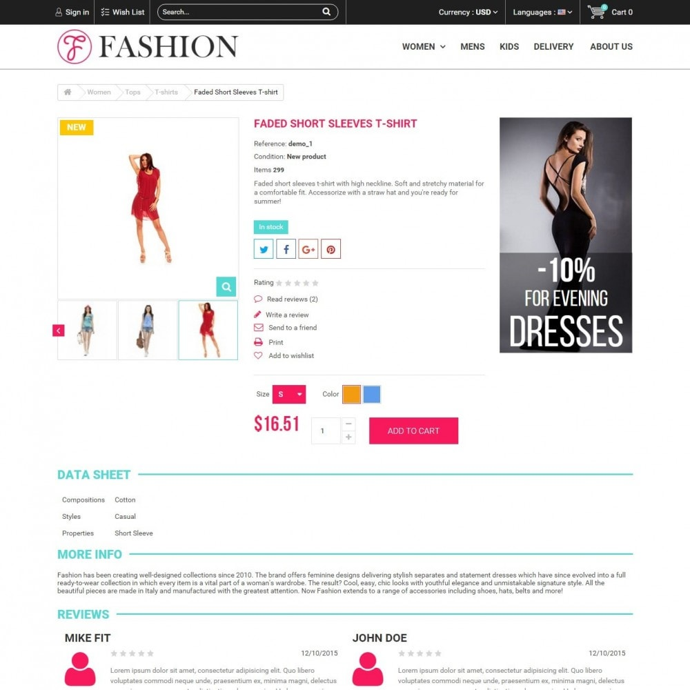 theme - Мода и обувь - Fashion Style - Сlothes Store - 5