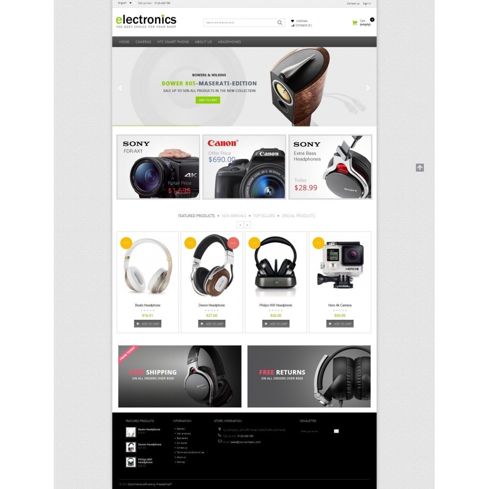theme - Electrónica e High Tech - Electronics shop - 5