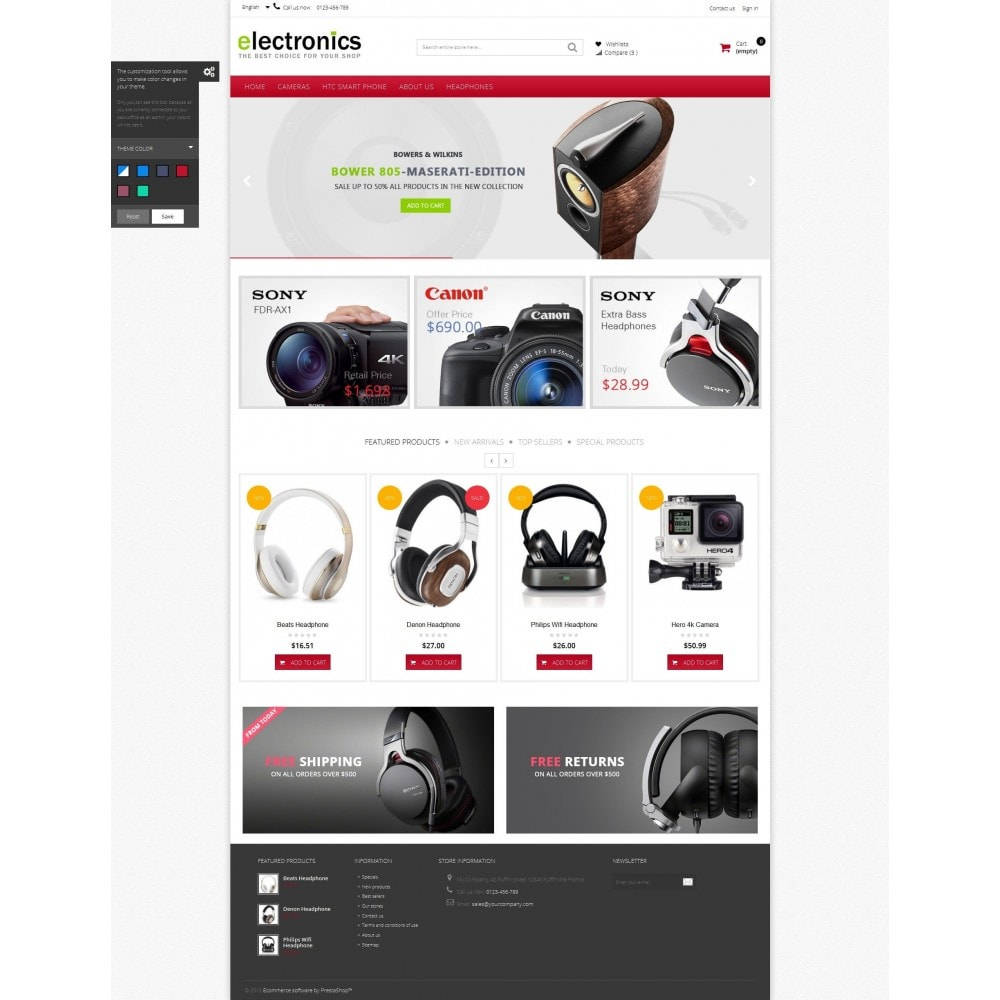 theme - Electrónica e High Tech - Electronics shop - 6