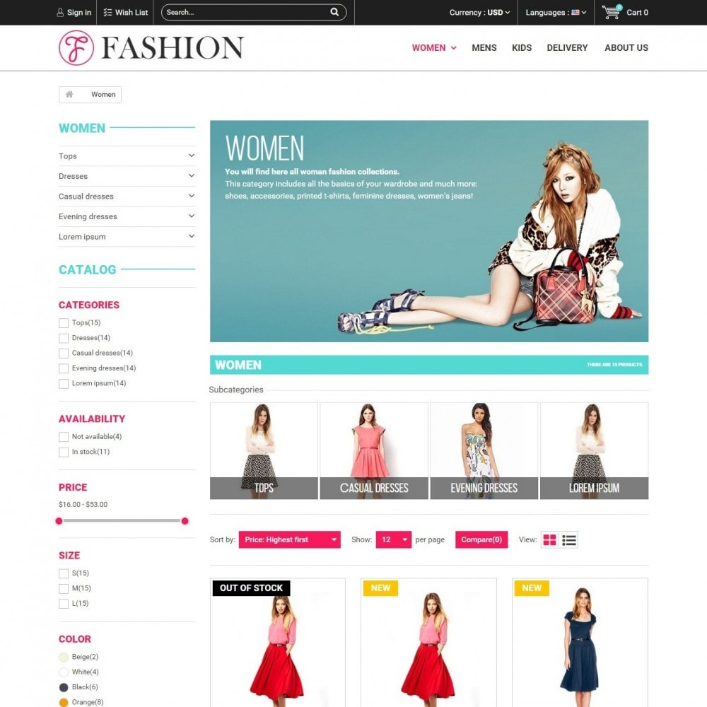 theme - Moda & Calzature - Fashion Style - Сlothes Store - 4