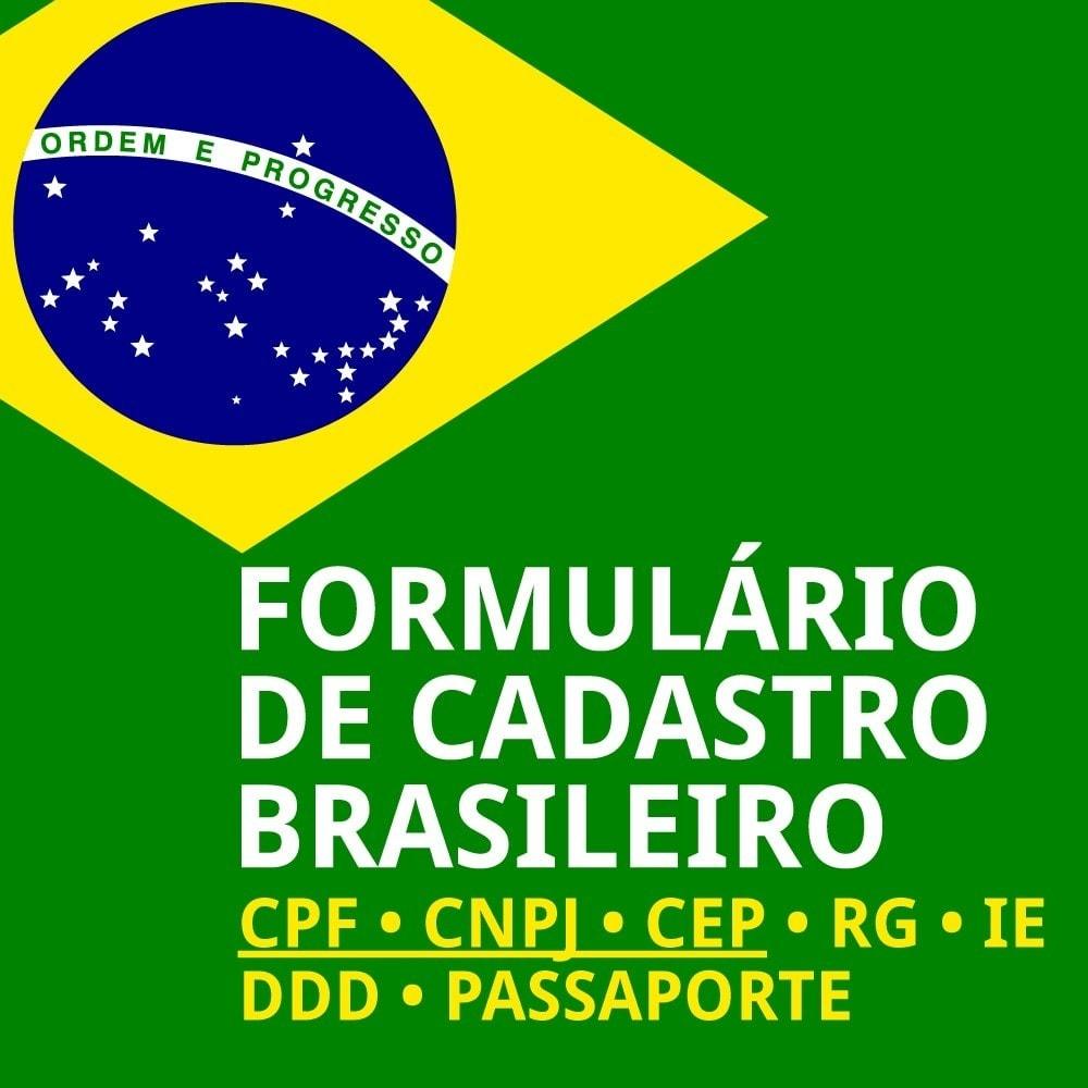 module - Registration & Ordering Process - Brazilian Registration - 1