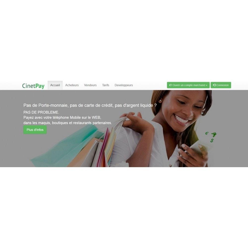 module - Paiement par Carte ou Wallet - CinetPay - 1