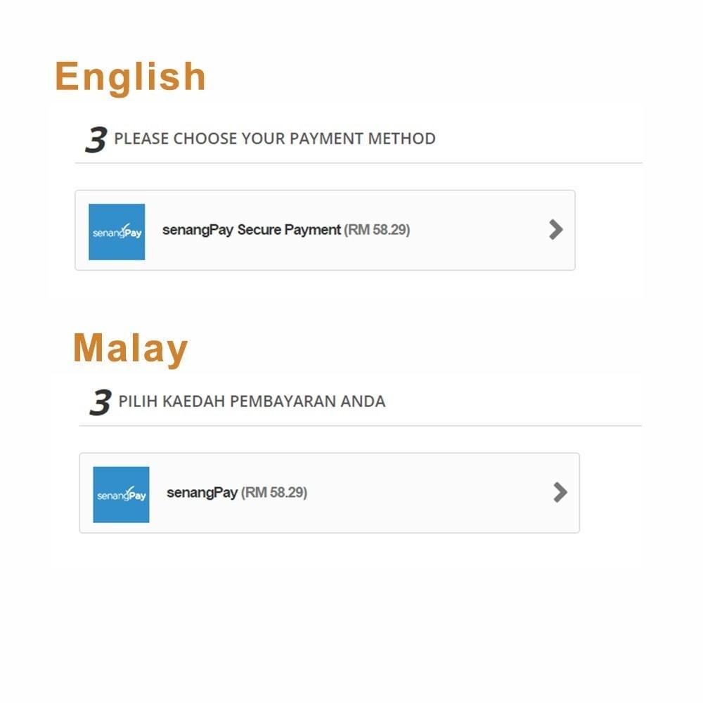 module - Paiement par Carte ou Wallet - senangPay - 5