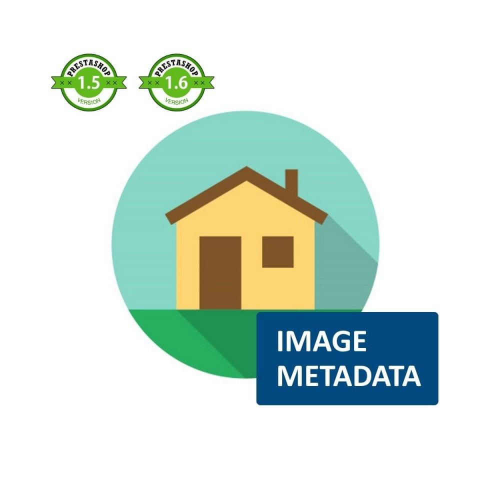 module - SEO (Referenciamento natural) - Image Metadata - 1