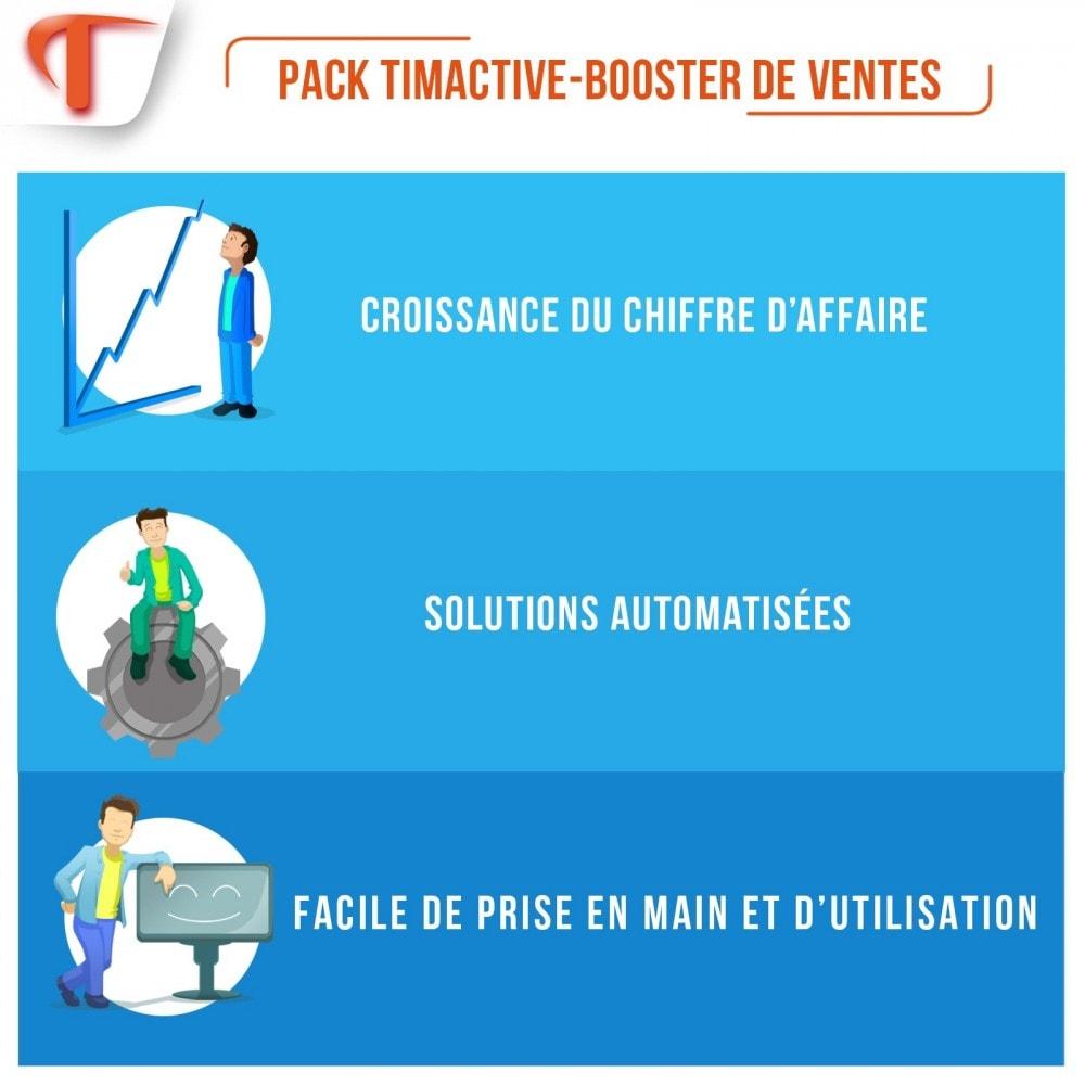bundle - Remarketing & Paniers Abandonnés - Sales Booster Pack - 1
