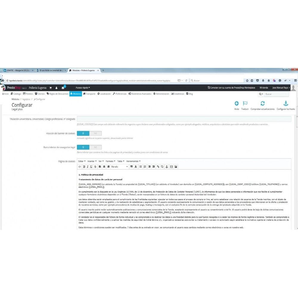 module - Marco Legal (Ley Europea) - LEGALPLUS - 2