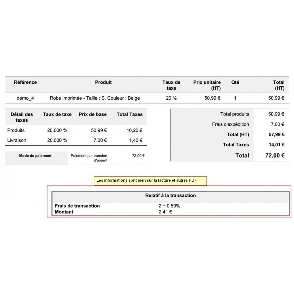 module - Autres moyens de paiement - Paiement par transfert d'argent - 14