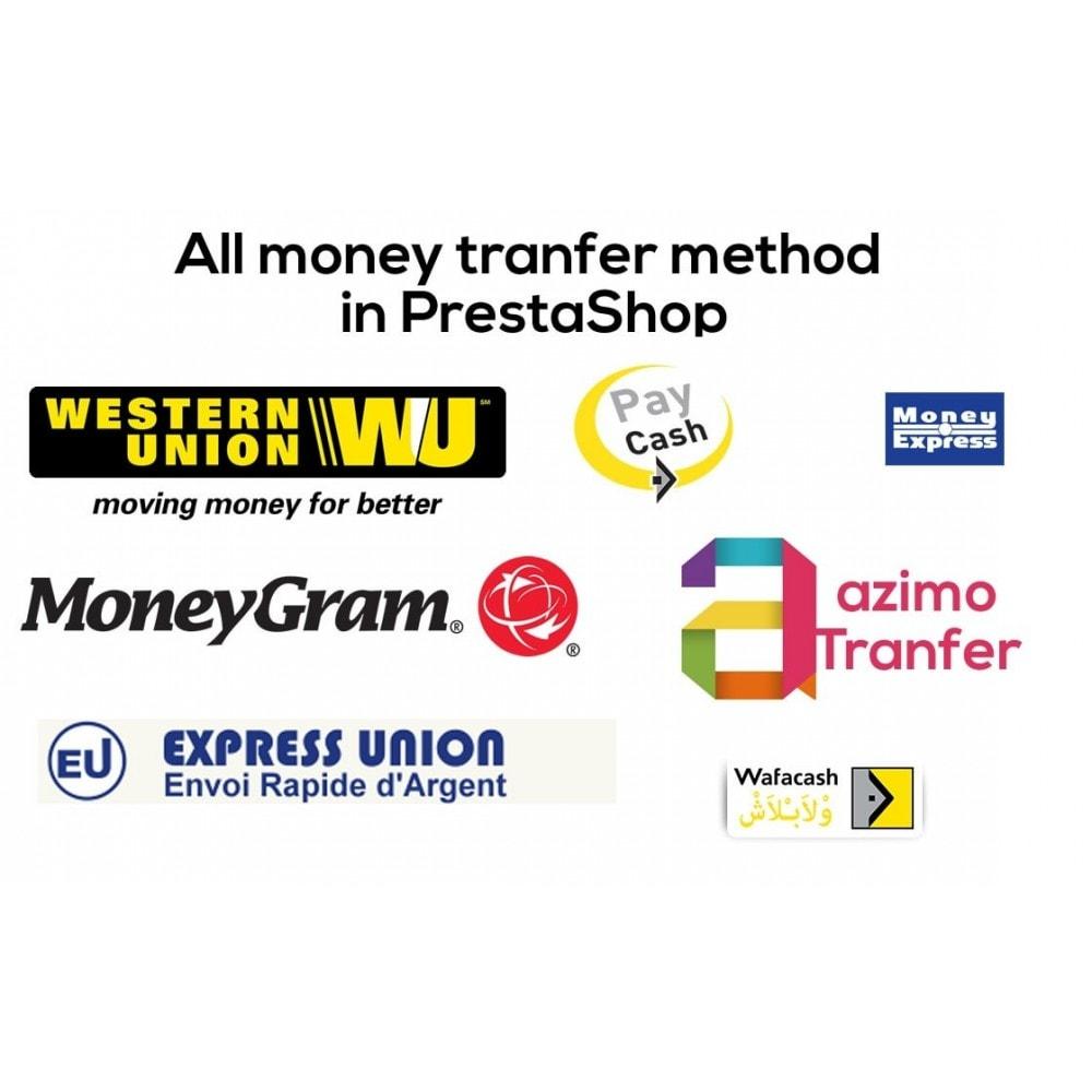 module - Paiement par Carte ou Wallet - Paiement par Western Union / Money Gram et autre - 1