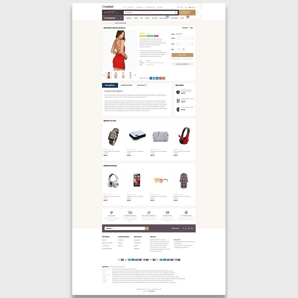 theme - Moda y Calzado - Ap E-market - 5