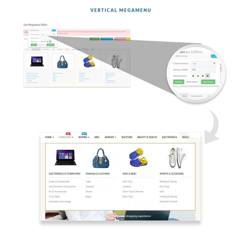 theme - Moda y Calzado - Ap E-market - 6