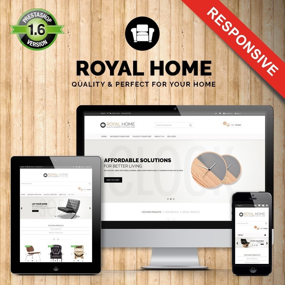 theme - Home & Garden - Ultimate! Royalhome Elegant - 1