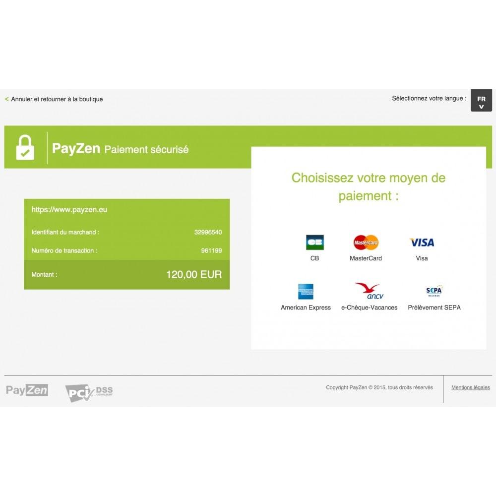 module - Paiement par Carte ou Wallet - Passerelle de Paiement PayZen SystemPay & SogeCommerce - 2