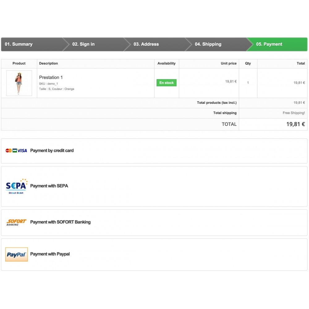 module - Pago con Tarjeta o Carteras digitales - Advanced Payment Gateway - 1