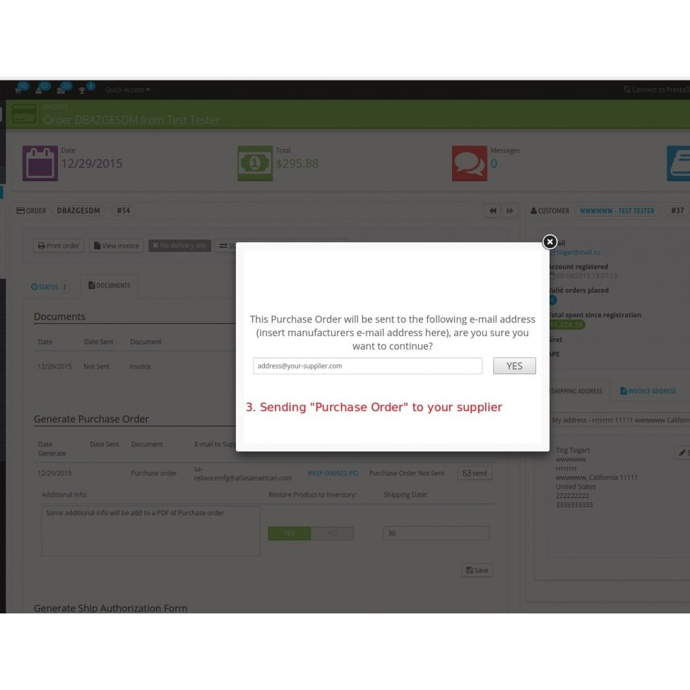 module - B2B - Easy B2B for Purchase Orders and Invoices - 4