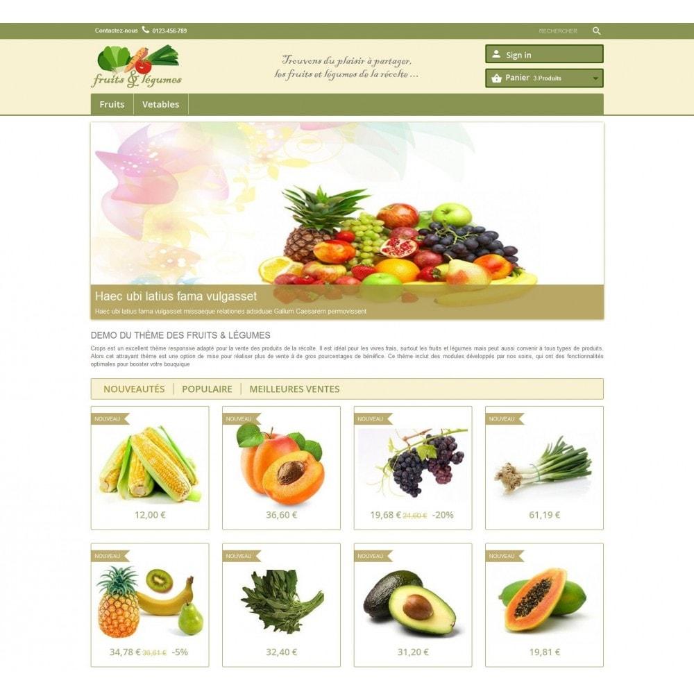 theme - Alimentation & Restauration - Crops - 4