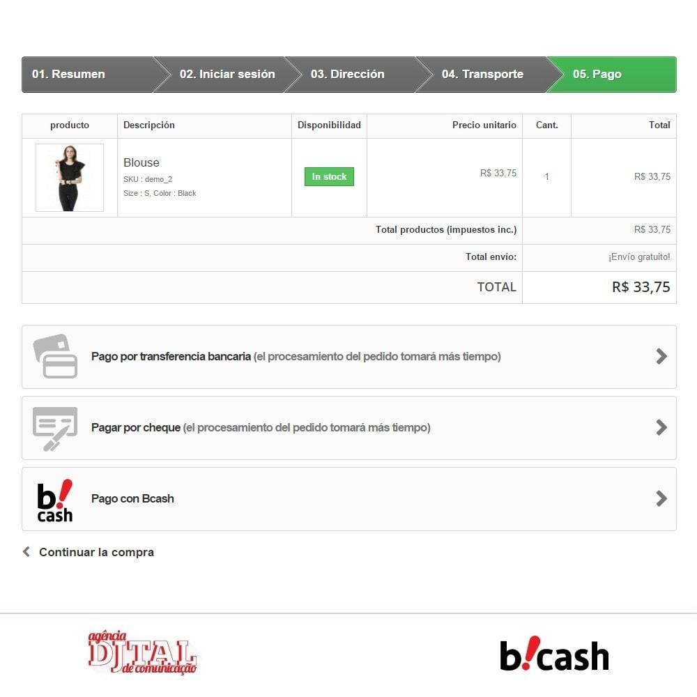 module - Pago con Tarjeta o Carteras digitales - Bcash Integrado - 3