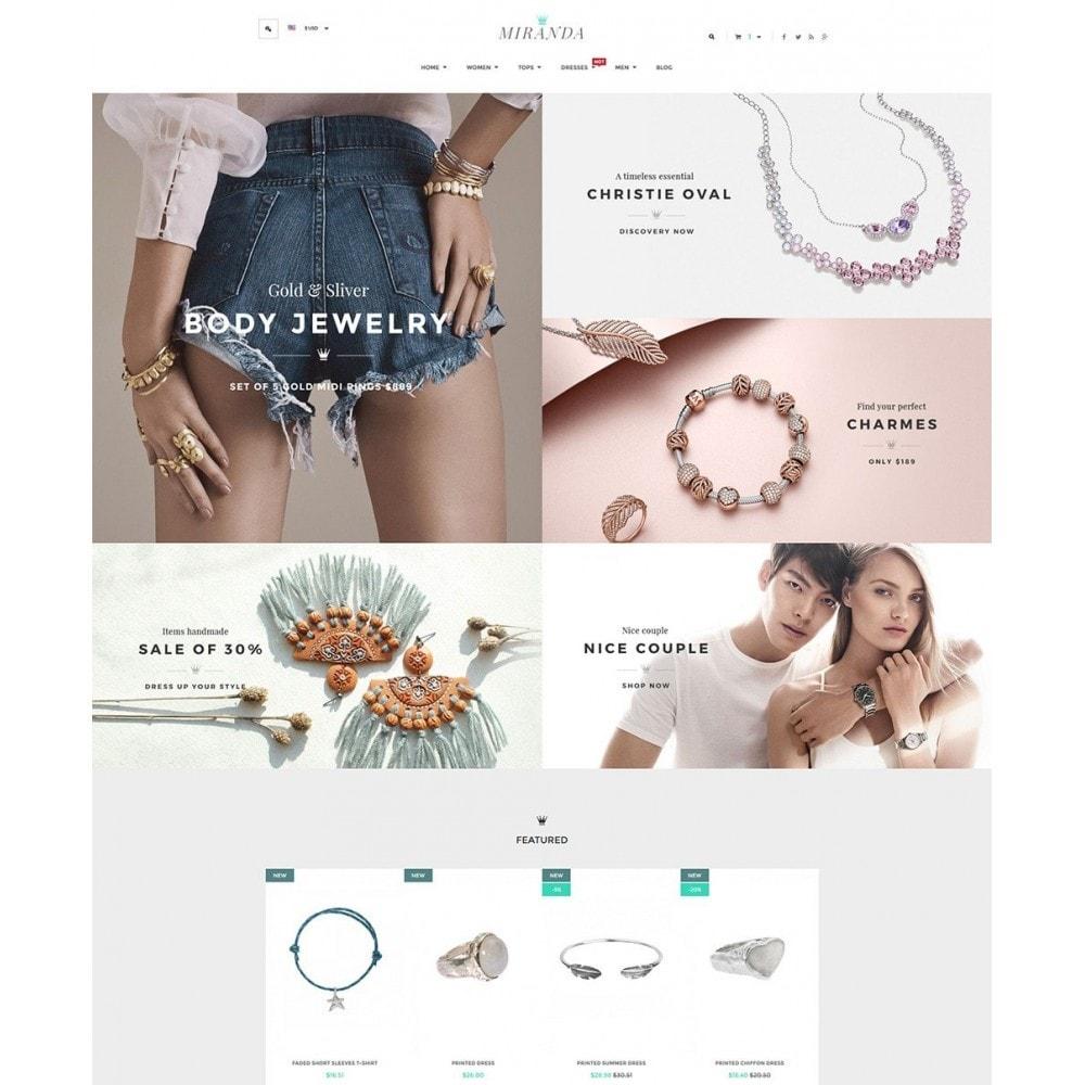 theme - Joalheria & Acessórios - Water Jewelry Shop - 2