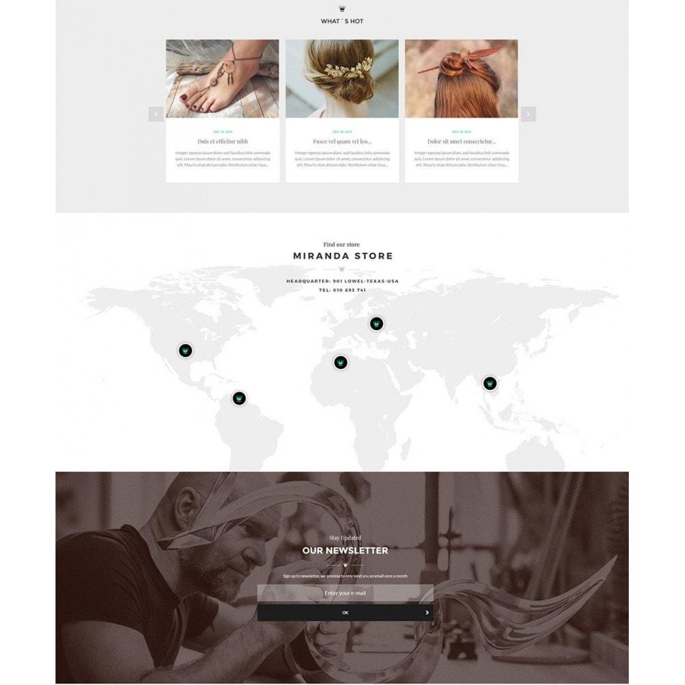 theme - Joalheria & Acessórios - Water Jewelry Shop - 3