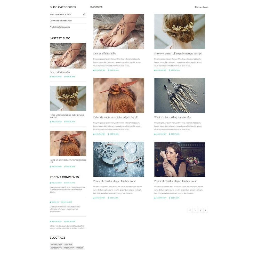 theme - Joalheria & Acessórios - Water Jewelry Shop - 6