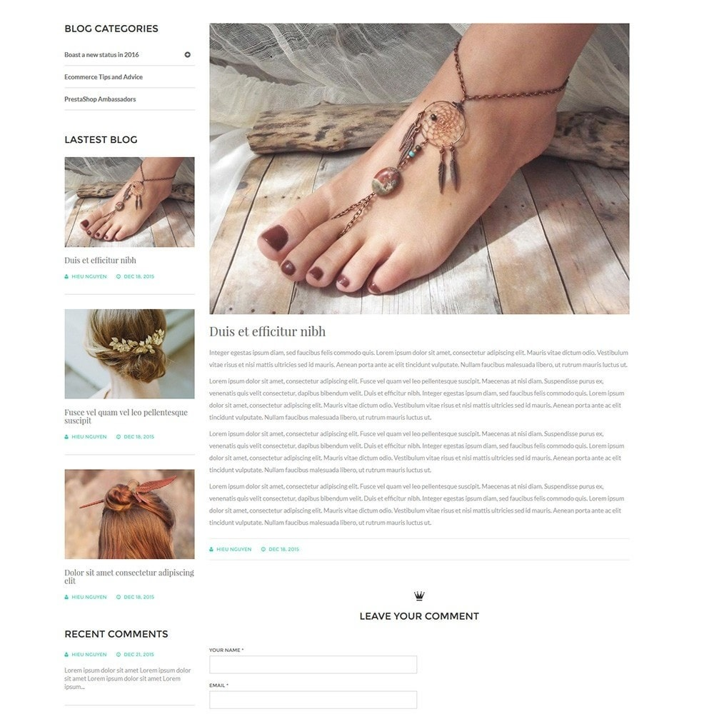 theme - Joalheria & Acessórios - Water Jewelry Shop - 7