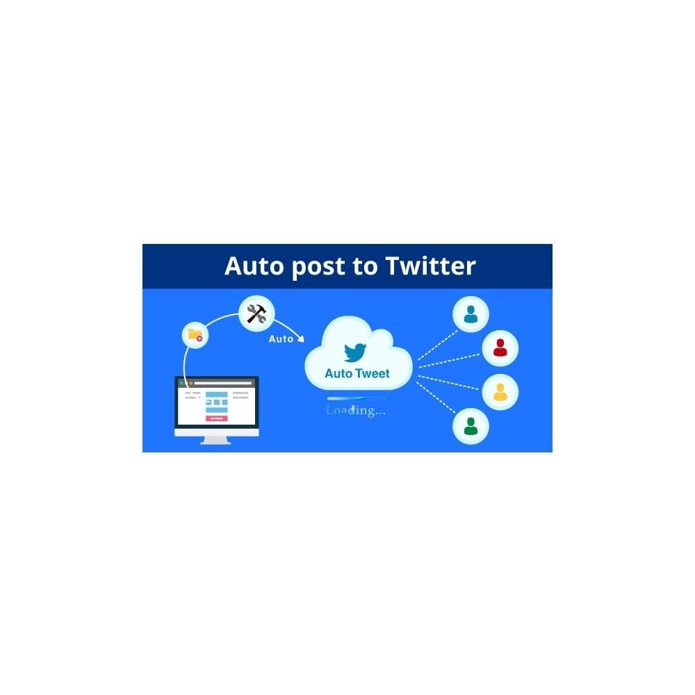 module - Widgets sozialer Netzwerke - Auto Post to Twitter - Auto Tweet Pro - 2