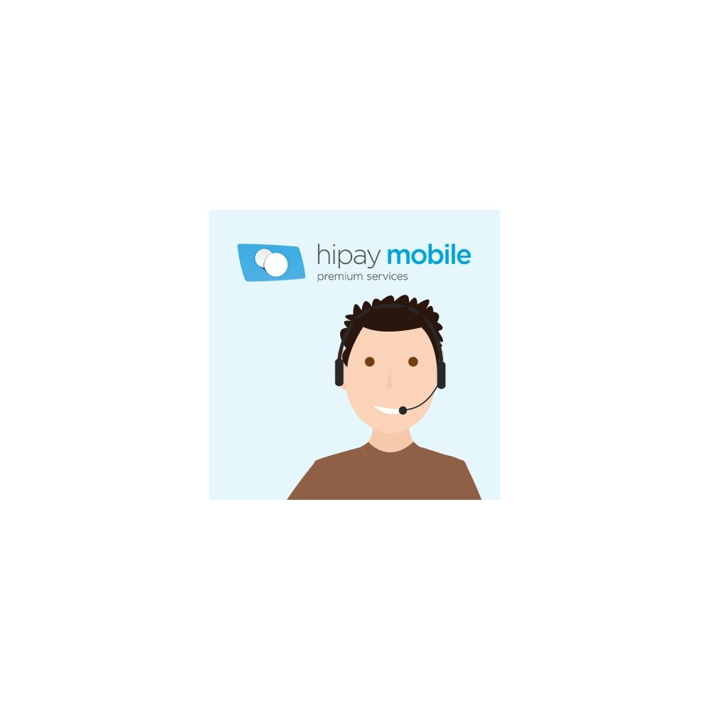 service - Support & Online Chat - Automated Hotline HiPay Mobile - 1