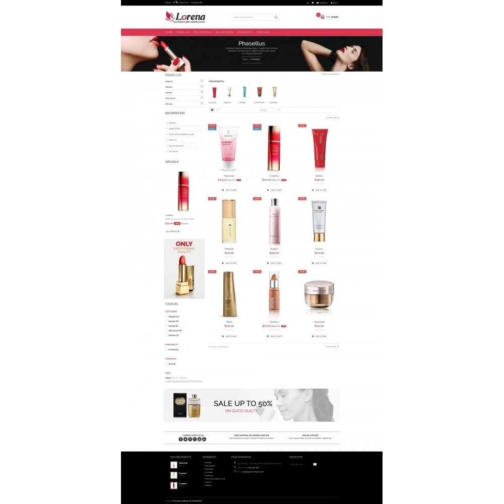 theme - Health & Beauty - Lorena Cosmetic Shop HTML5 - 3