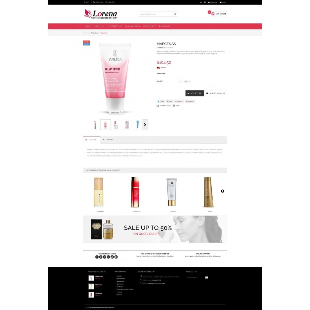 theme - Health & Beauty - Lorena Cosmetic Shop HTML5 - 4