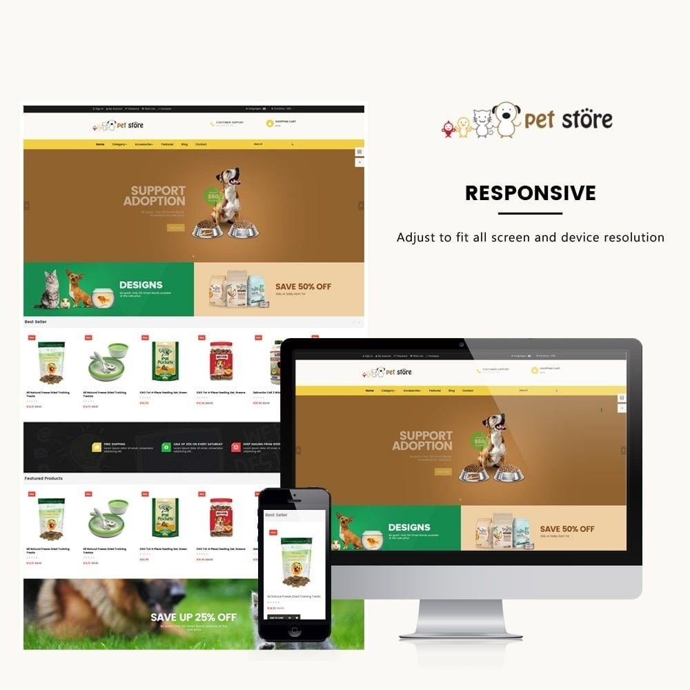theme - Animaux - Ap Pets Store - 1