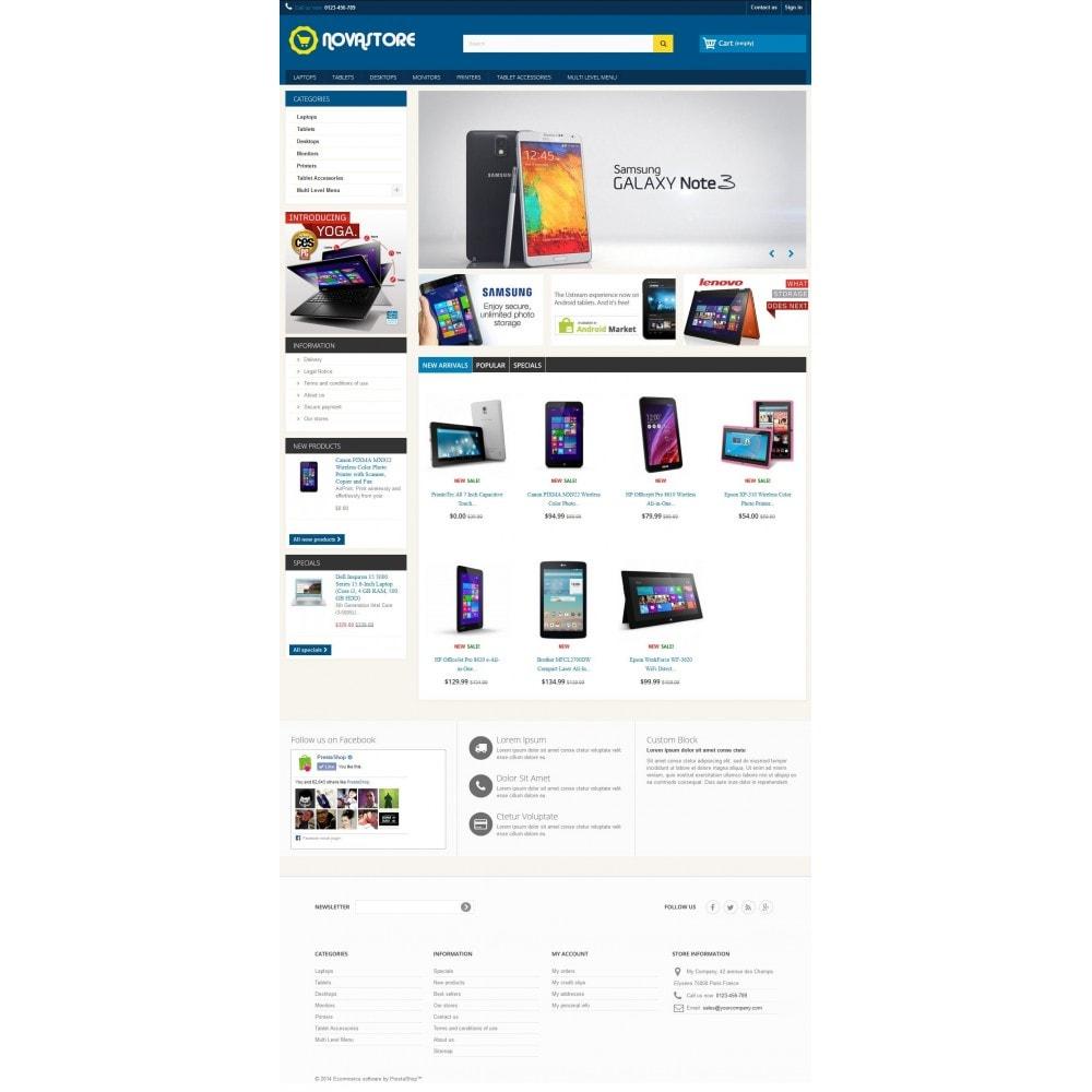 theme - Electrónica e High Tech - Nova Store 1.0.1 - 1