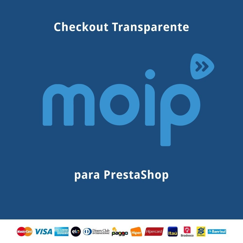 module - Paiement par Carte ou Wallet - Moip Transparent Checkout - 1