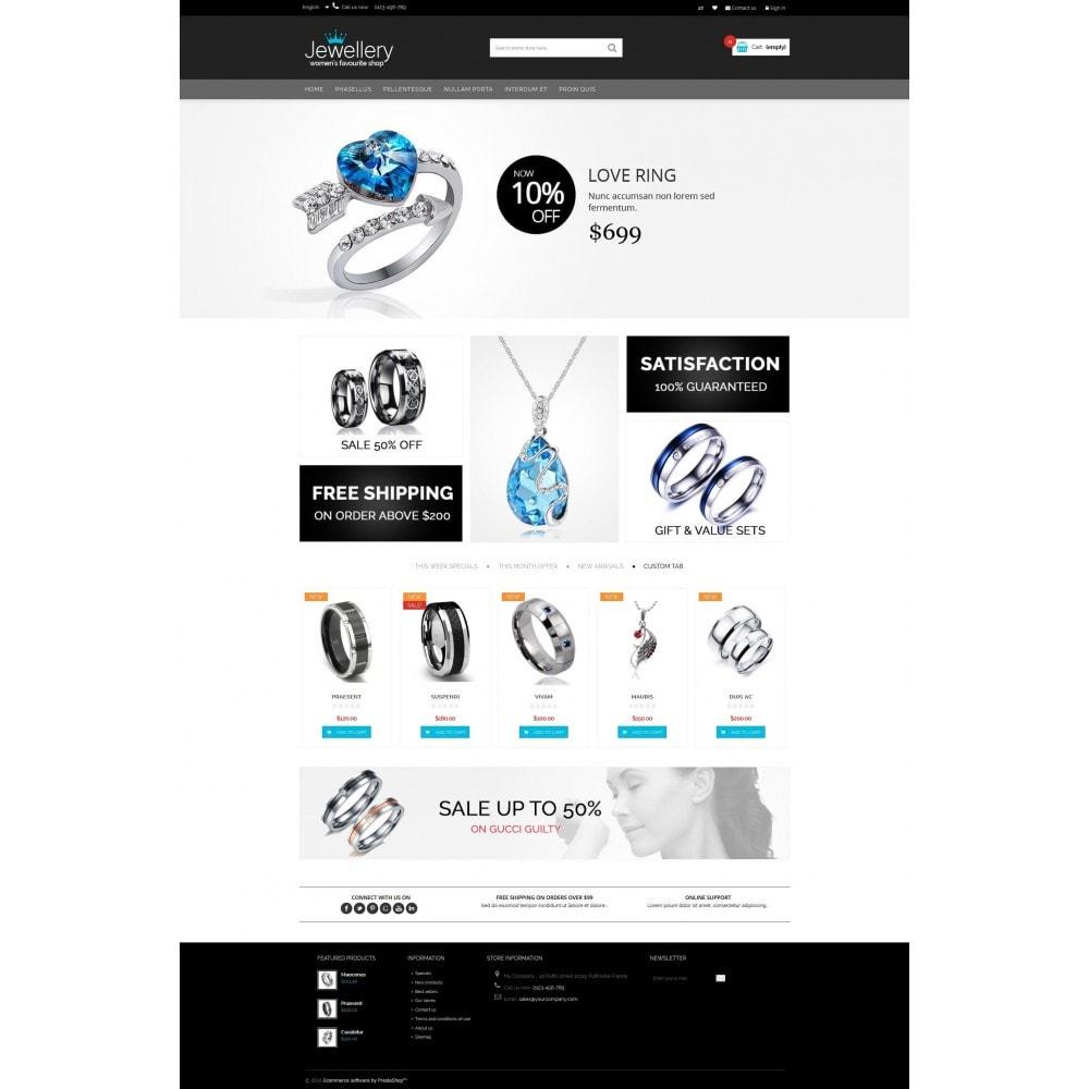 theme - Sieraden & Accessoires - Jewellery Multipurpose HTML5 - 5