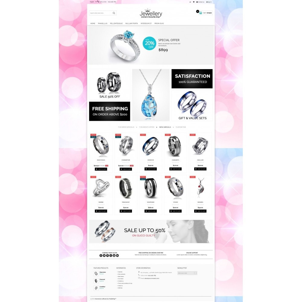 theme - Sieraden & Accessoires - Jewellery Multipurpose HTML5 - 7
