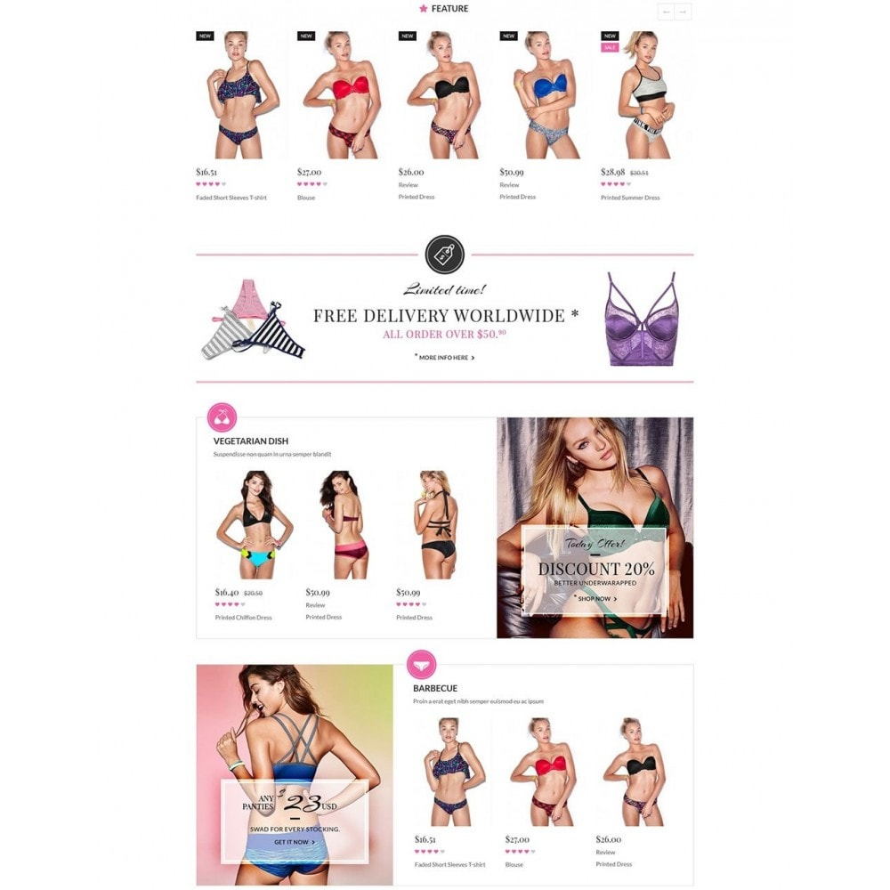 theme - Lingerie & Adultos - Water Bikini Shop - 3
