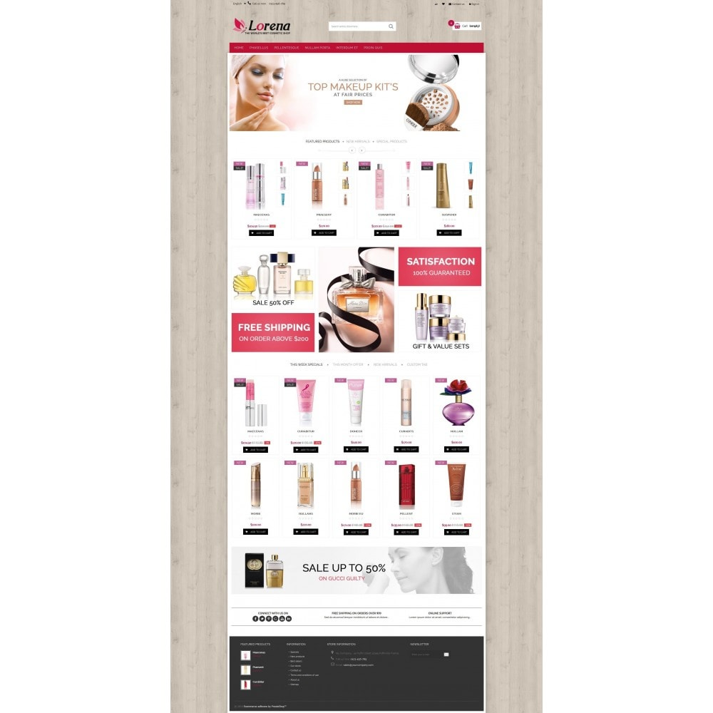 theme - Health & Beauty - Lorena Cosmetic Shop HTML5 - 5