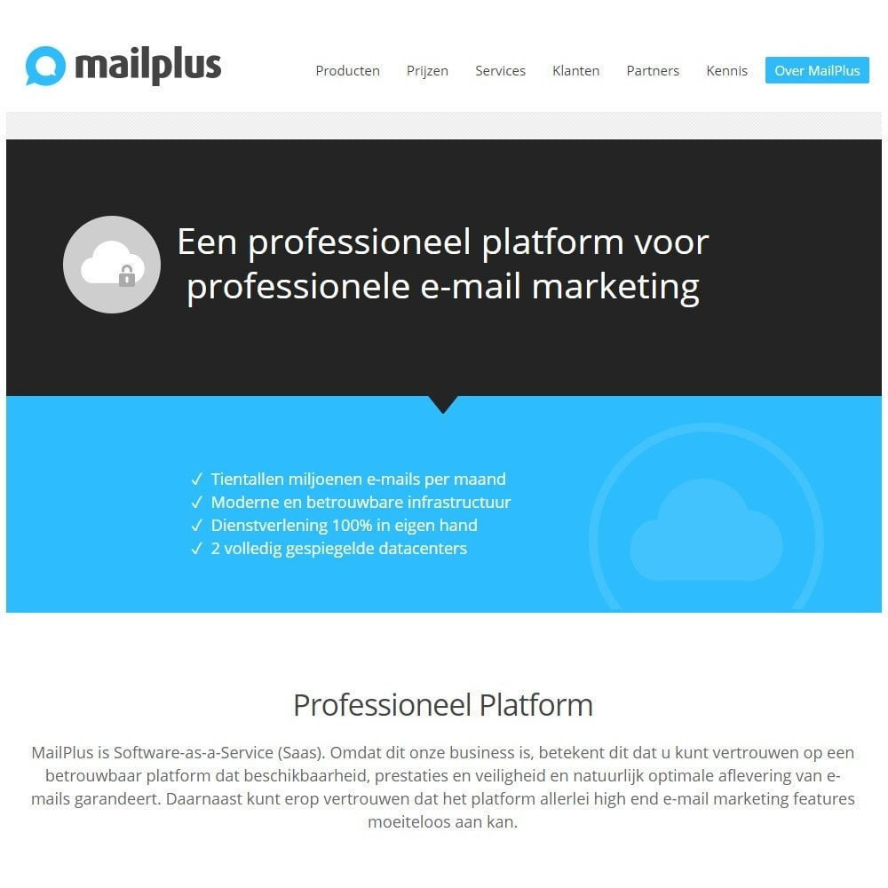 module - Newsletter y SMS - Official MailPlus connector - 2